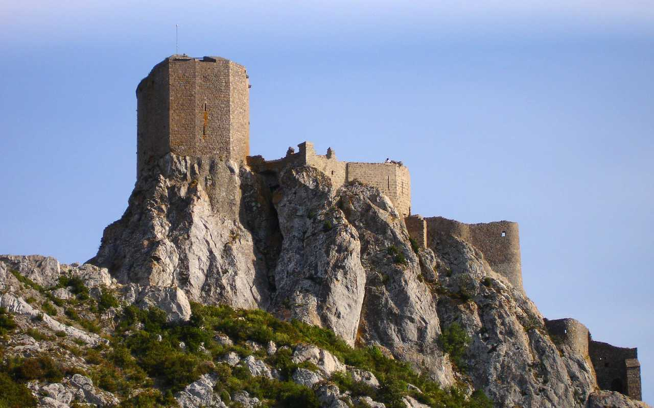 Paysage carcassonne hôtel Aude