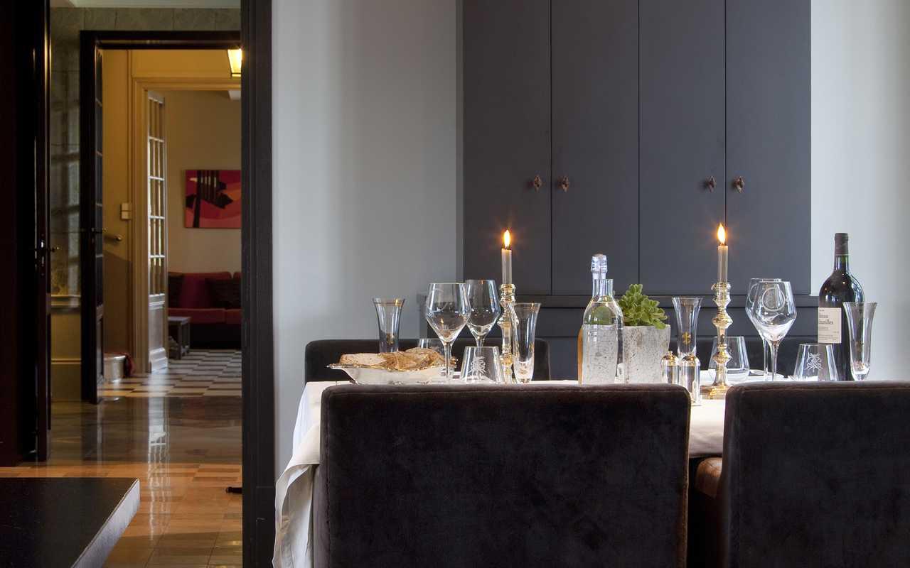 Repas gourmand hôtel Aude