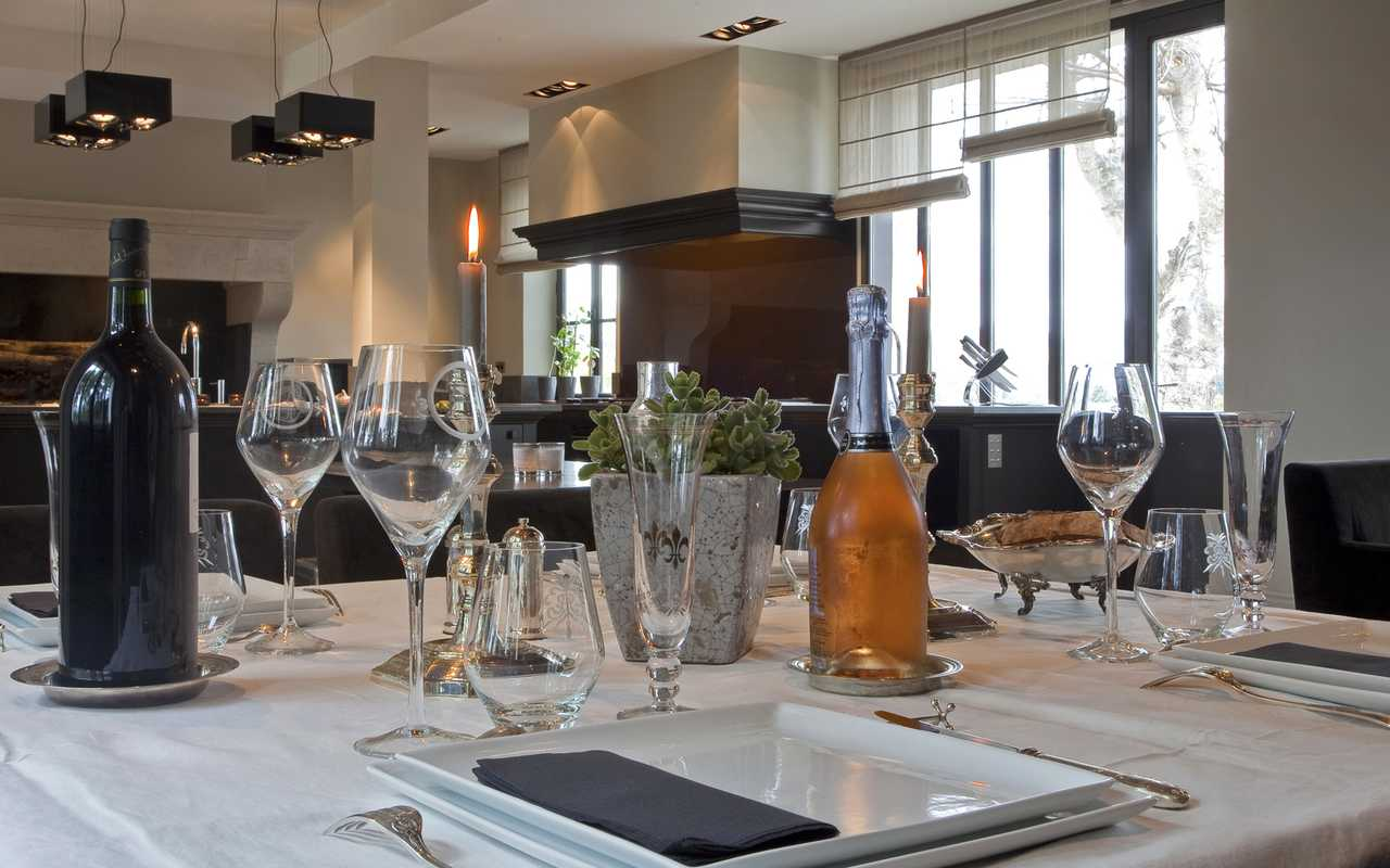 Repas raffiné hôtel Carcassonne