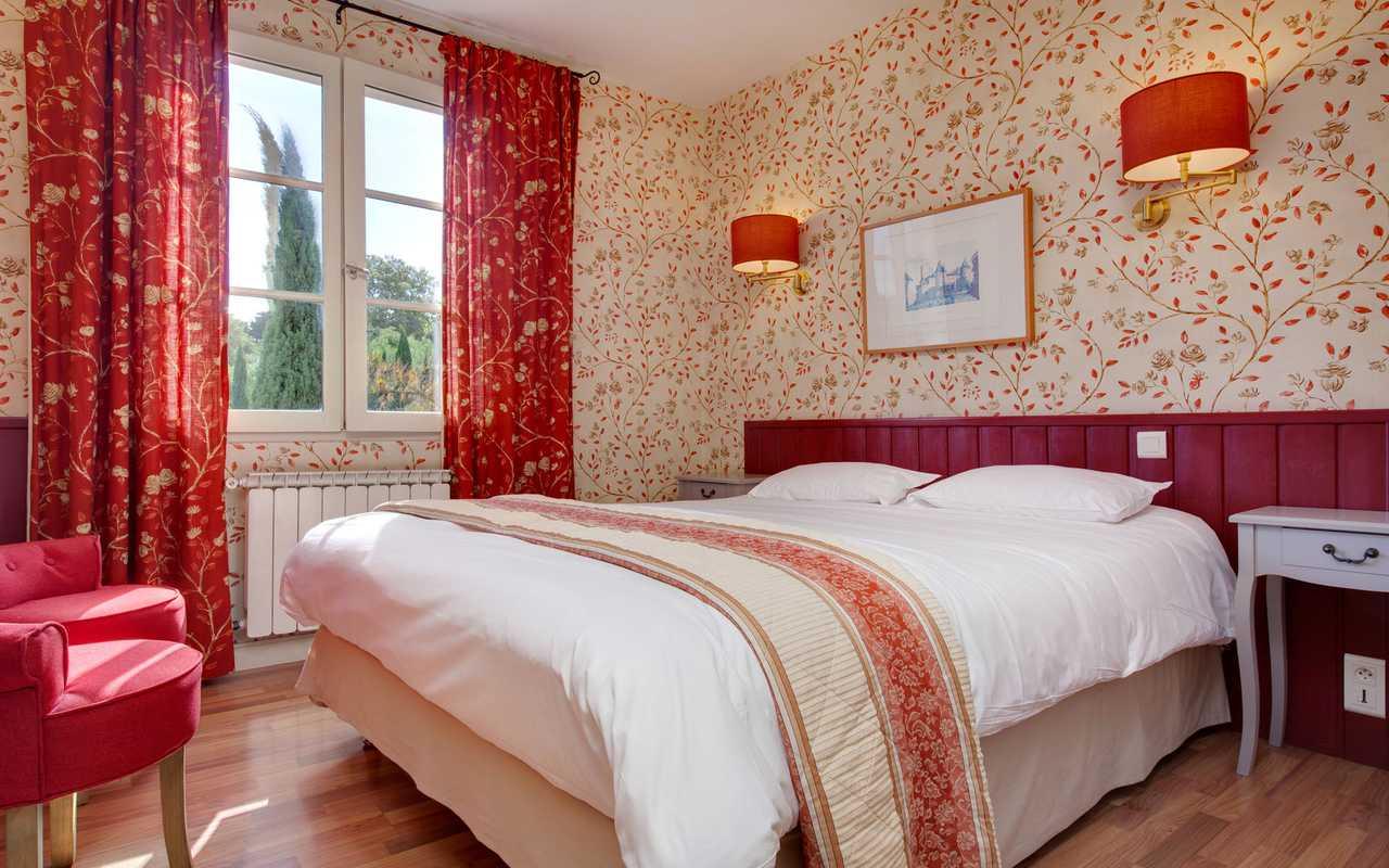 Chambre champêtre hôtel Aude